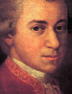 Get a load of that hunk! If you're ovulating, you know you want some Mozart. (Image via Wikipedia)